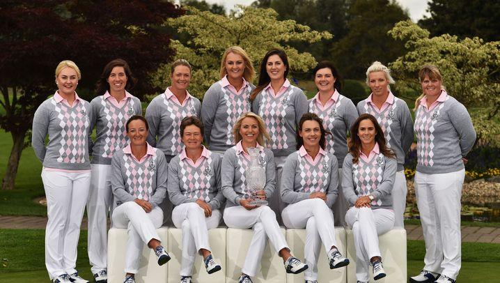 Golf: Team Europe beim Solheim Cup 2015