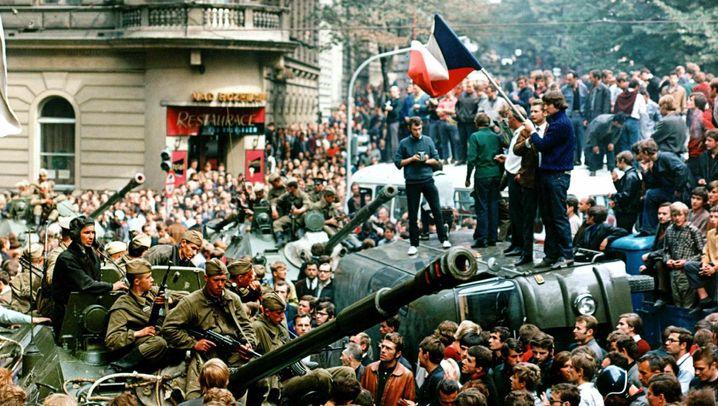 Als Moskau Panzer schickte: Chronik des Prager Frühlings - der Einmarsch und der lange Winter