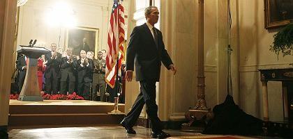 George W. Bushs Abschied: Abgang nach der letzten TV-Ansprache
