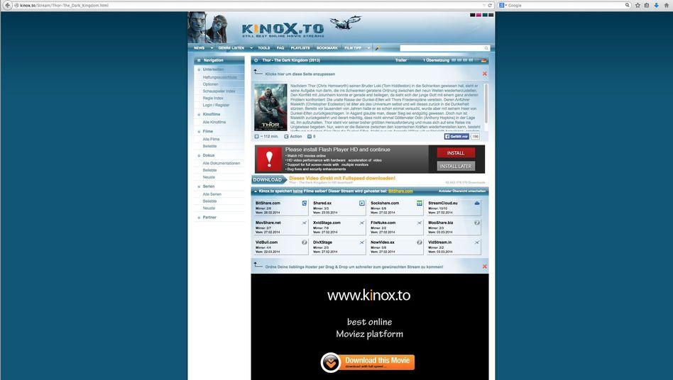 Kinox.to: Ermittler gehen gegen Betreiber der Webseite vor