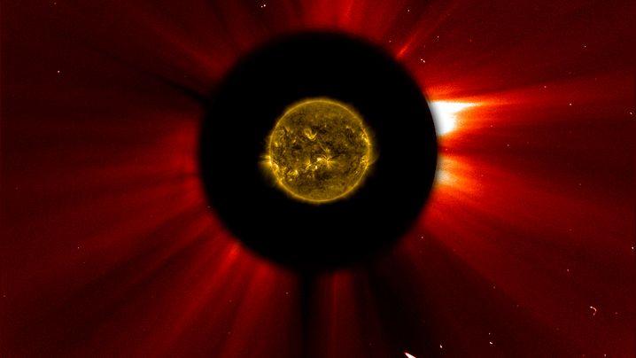 Annäherung des Kometen: 1:0 für Sonne