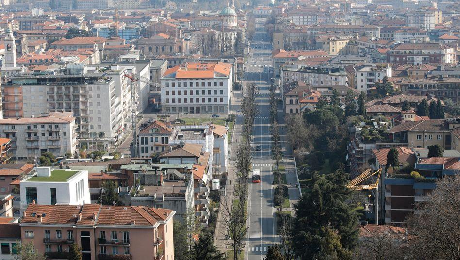 Bergamo stehe am Abgrund, warnt der Bürgermeister