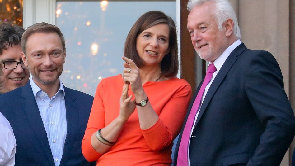 Verhandlungsführer von Grünen und FDP
