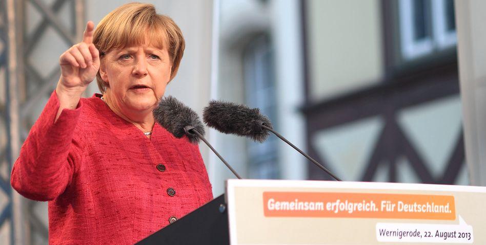 Bundeskanzlerin Angela Merkel: Verbindlich unverbindlich