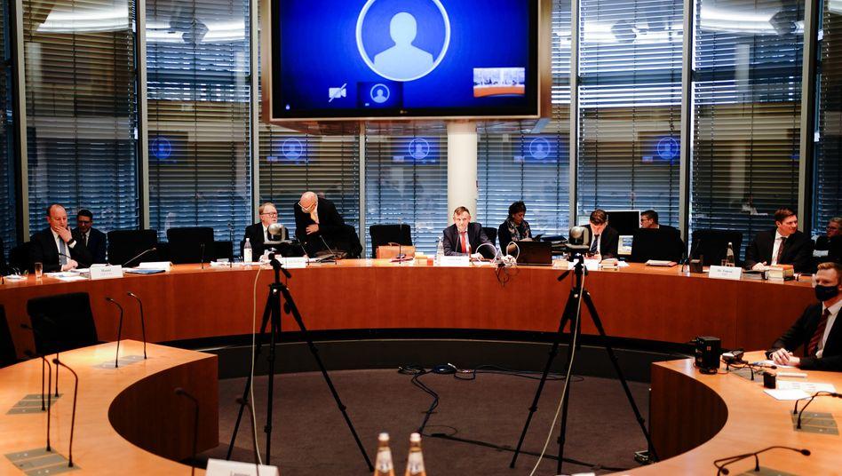 Sitzung des Wirecard-Untersuchungsausschusses