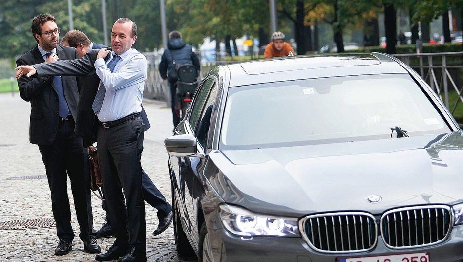 CSU-Vize Weber mit Diplomatenauto:Ein schönes Angebot