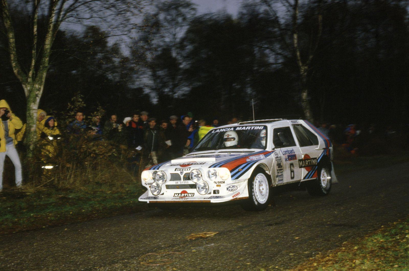 1985 World Rally Championship. Lombard RAC Rally, Great Britain. 24-28 November 1985. Henri Toivonen/Neil Wilson (Lanci