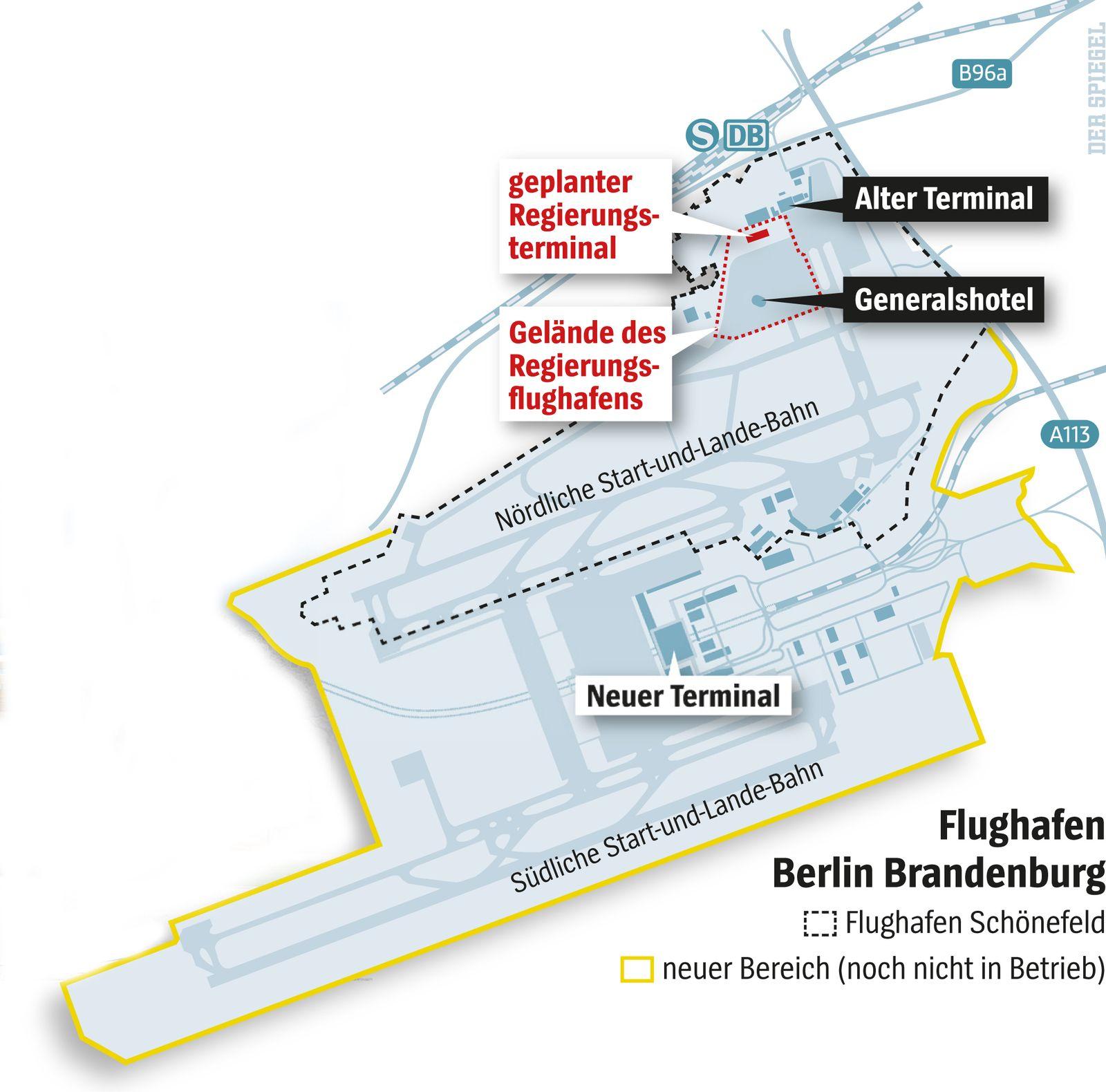 SPIEGEL 51/2012 Grafik BER / Terminal