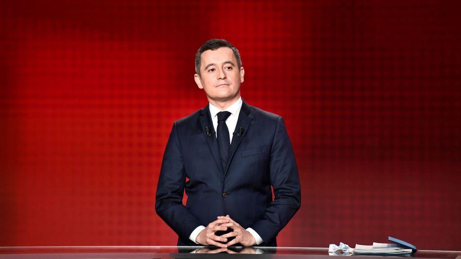 Innenminister Gérald Darmanin kündigte Verfahren bei Twitter an