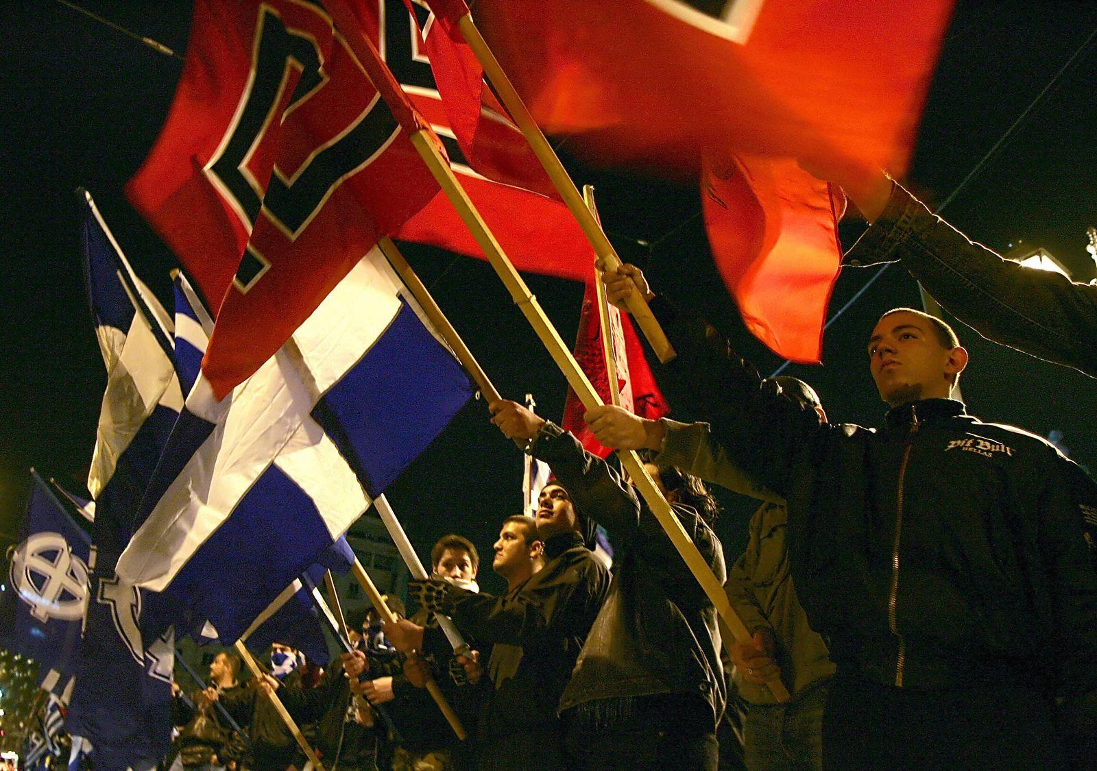 SPIEGEL PLUS und SPIN 36/2019 S. 36 - Neonazis in Athen 2007