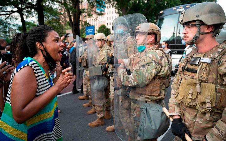 """Militär vor dem Weißen Haus: """"Wir sind Zeugen der Konsequenzen von drei Jahren ohne reife Führung"""""""