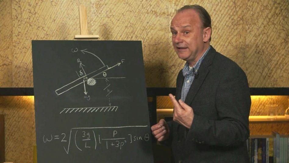 Physiker Matthews: Besser nicht versuchen, den Sturz zu bremsen