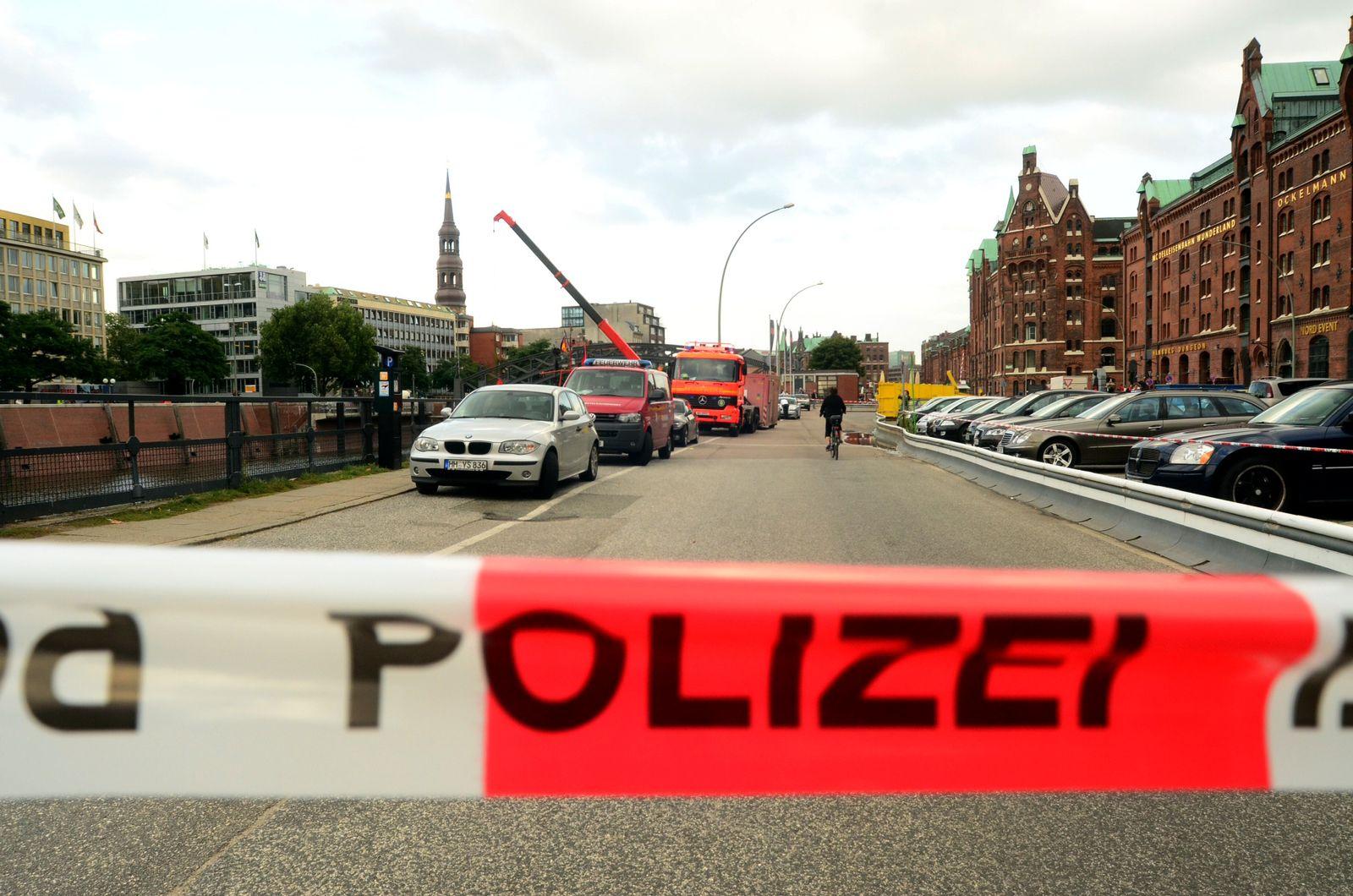 NICHT VERWENDEN Bombenfund Hamburg