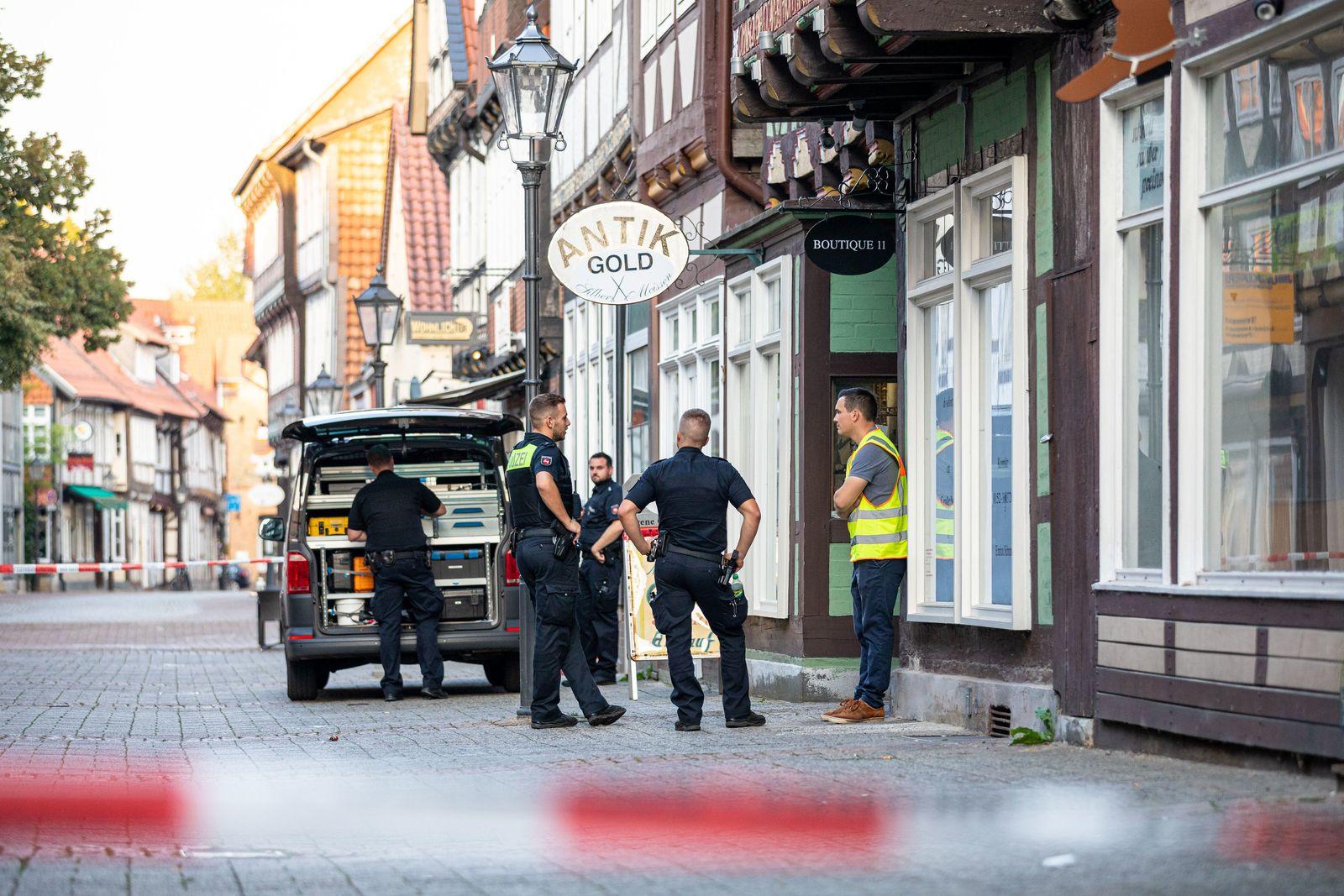 Ein Toter bei Raubüberfall in Celle in Niedersachsen