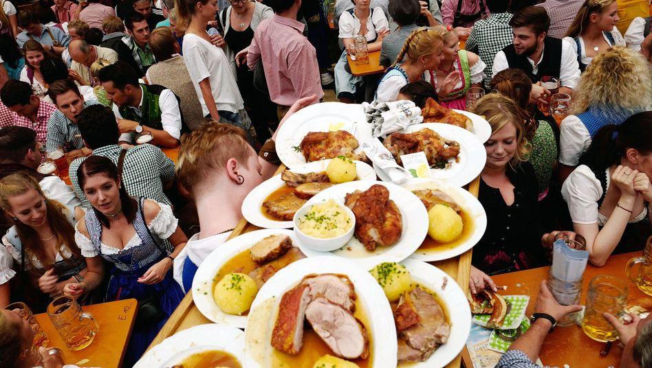 """Oktoberfest in München: """"Eine ausgewogene Ernährung, die reich an pflanzlichen Bestandteilen ist"""""""