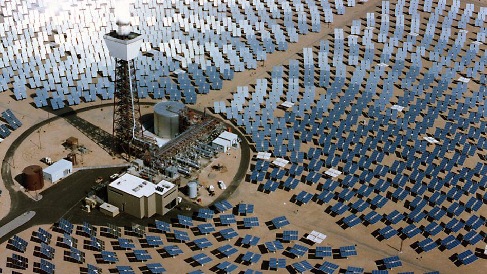 Solarkraftwerk in Kalifornien: Desertec-Initiative nur noch mit einem Chef