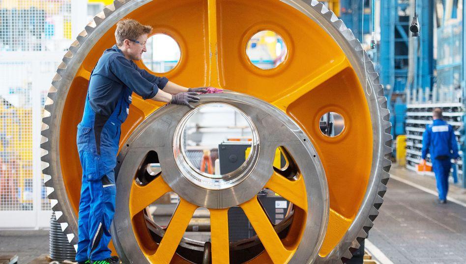 Werk des Maschinenbauers Schuler in Göppingen