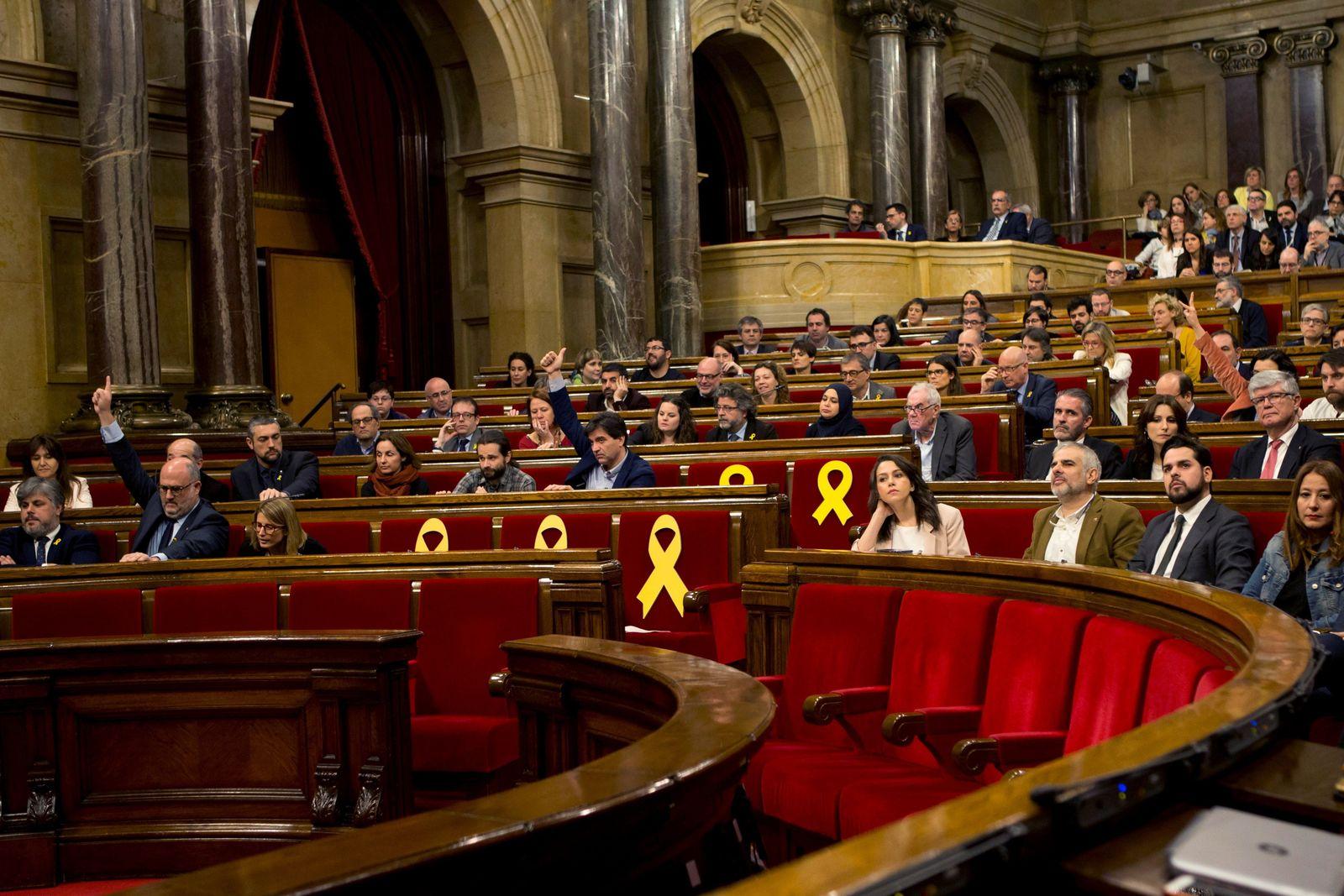 Barcelona/ Seperatisten/ Puigdemont