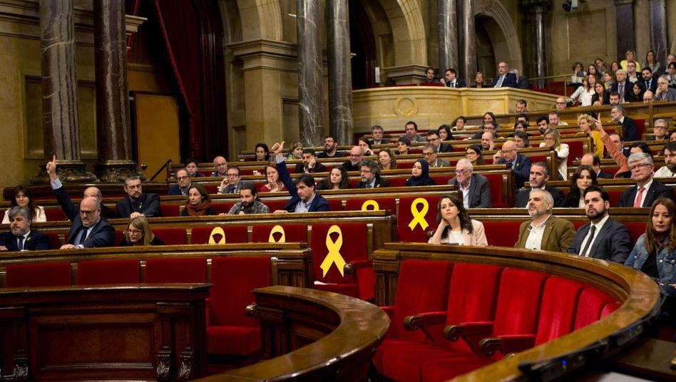 Regionalparlament in Barcelona