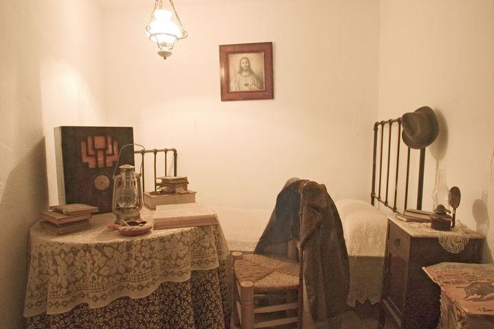 Das zweite Versteck von Cortes in Mijas (Rekonstruktion)