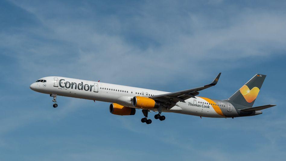 Boeing 757 von Condor