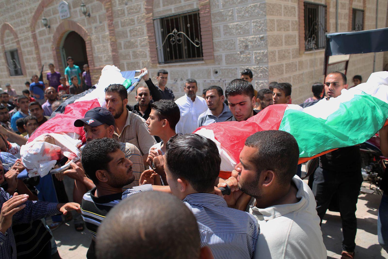 Gaza Funeral Omar Mohammed Breem