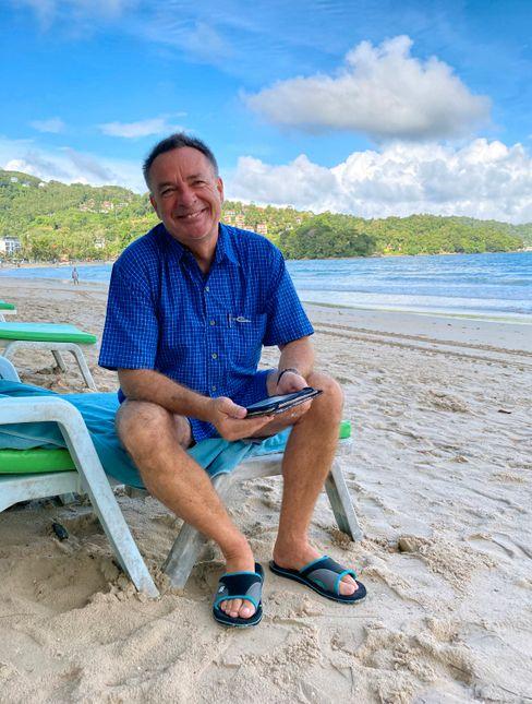 Hardy Wutke: »Die Idee der Phuket-Sandbox ist gut«, sagt der Berliner Zugführer, nur nicht genug durchdacht.
