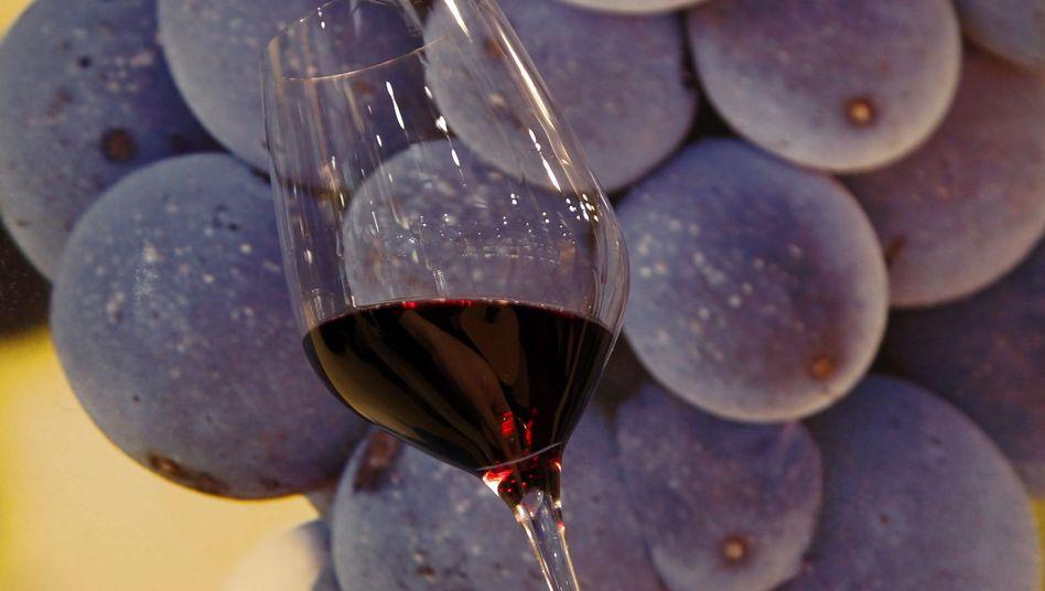 Rotwein: Allergische Symptome durch Sulfite