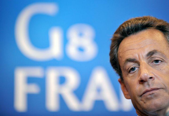 Französischer Präsident Sarkozy: Angst vor dem Machtverlust