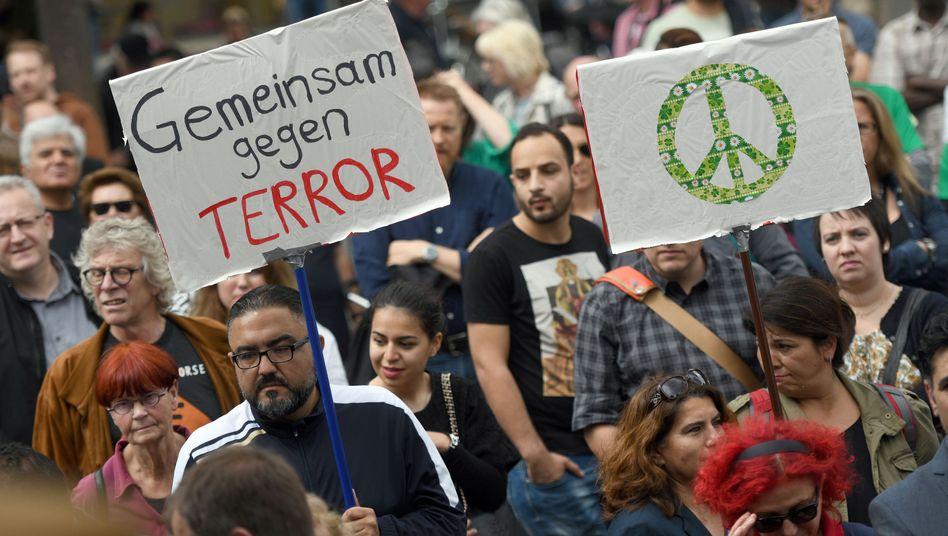 Friedensmarsch in Köln