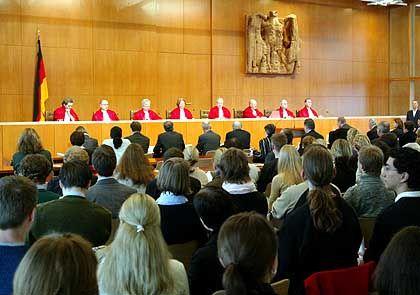 Karlsruher Richter: Klares Urteil