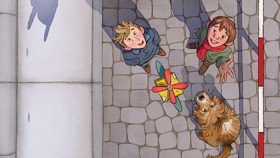 """Cover von """"Das Mauerschweinchen"""": zwei einfallsreiche Geschichten"""