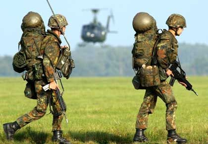 Bundeswehr-Soldaten bei der Übung: Unteroffiziere sind ins Zwielicht geraten