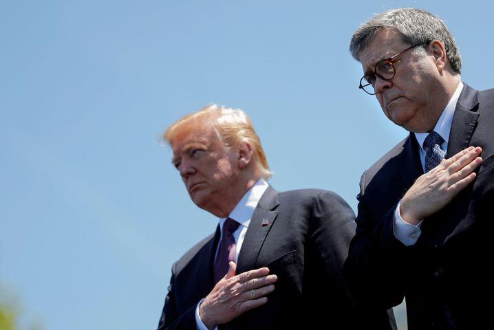 Im »Hinrichtungswahn«: Trump und Ex-Justizminister Bill Barr