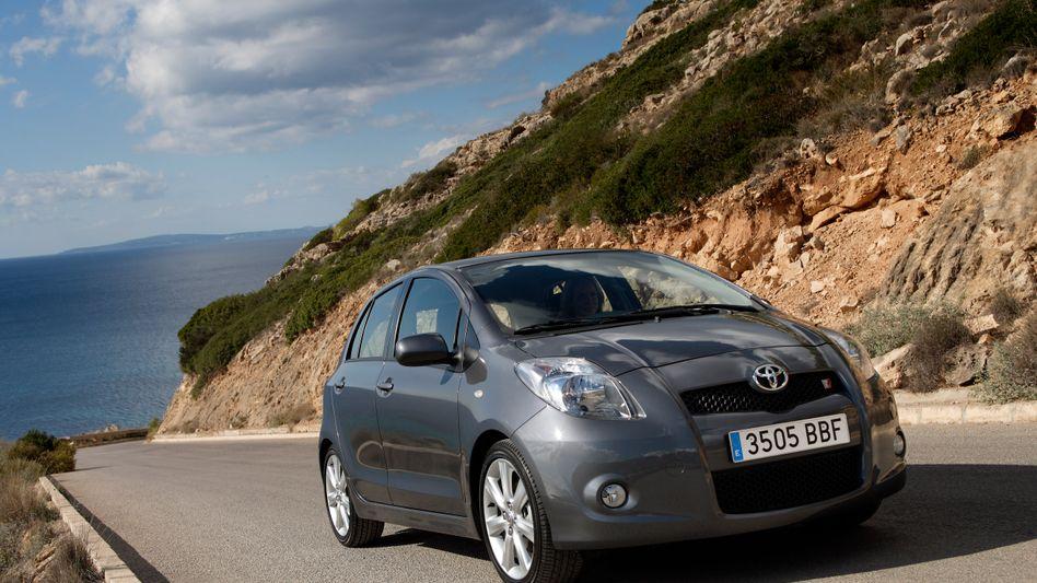 Modell Toyota Yaris TS: Konzern muss weltweit Autos zurückrufen