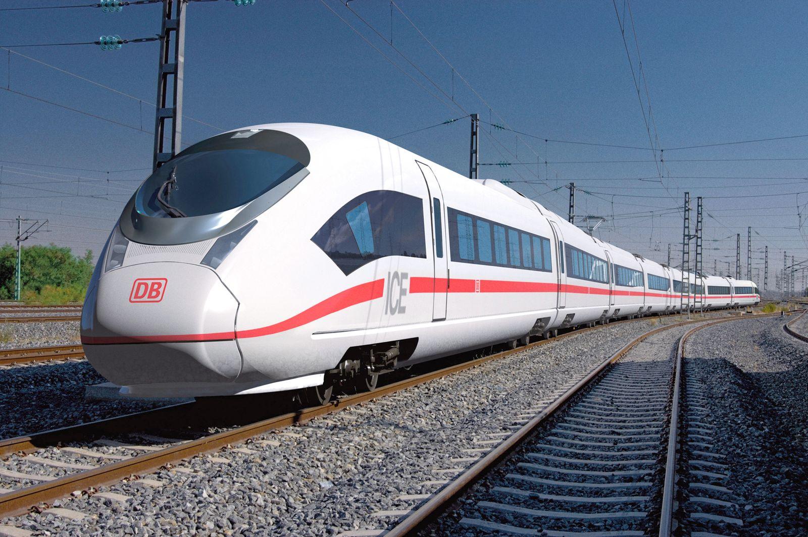 Deutsche Bahn Siemens ICE-Züge