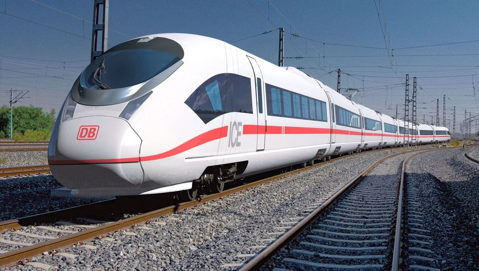 ICE 3 (Designstudie): Die Bahn will Ende 2011 die ersten von 15 neuen ICE einsetzen