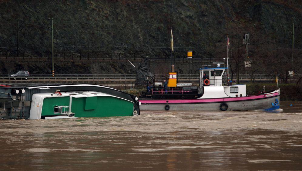 Schiffsunfall: Havarie in Rheinland-Pfalz