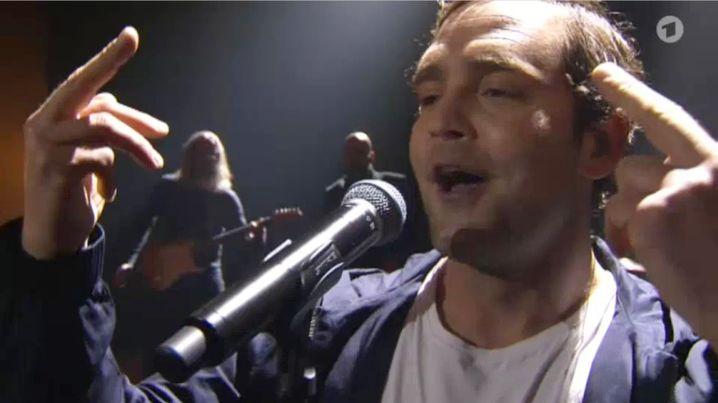 Sänger Bosse bei der Echo-Verleihung 2016