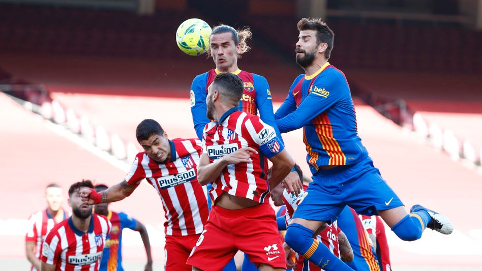Kein Sieger im Spitzenspiel zwischen dem FC Barcelona und Atlético