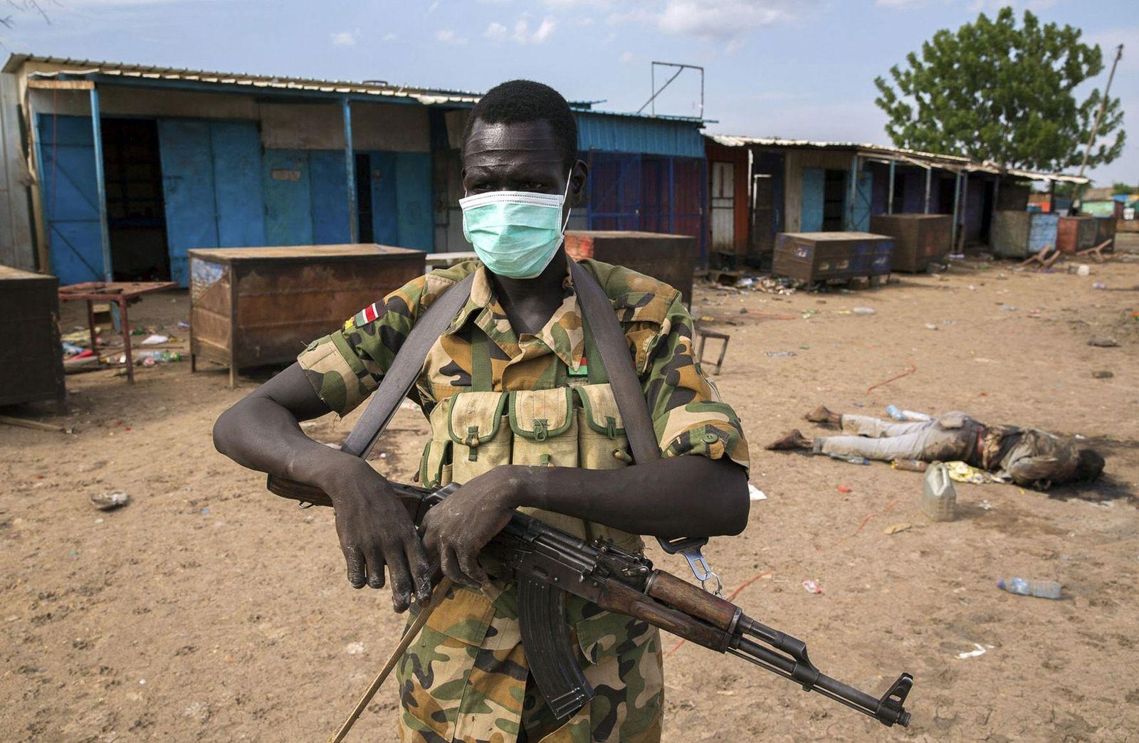 Südsudan/ Rebellenkämpfer