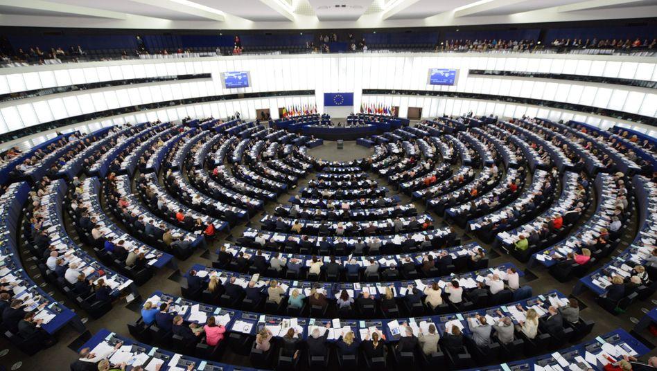 EU-Parlament in Straßburg: Abstimmung mit den USA