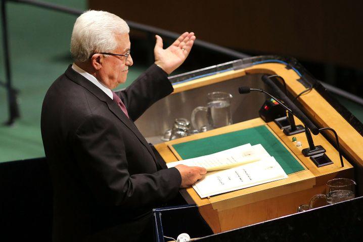 Für Palästinenserpräsident Mahmud Abbas sind die USA kein ehrlicher Vermittler mehr