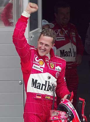 Seriensieger Schumacher: Wer soll ihn stoppen?