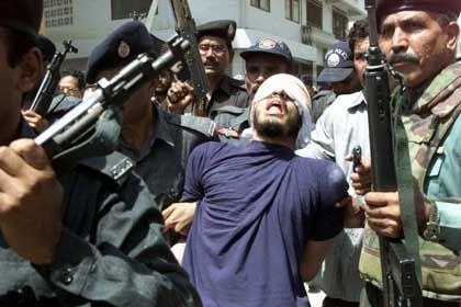 Ramzi bin al-Shibh in custody in Pakistan.