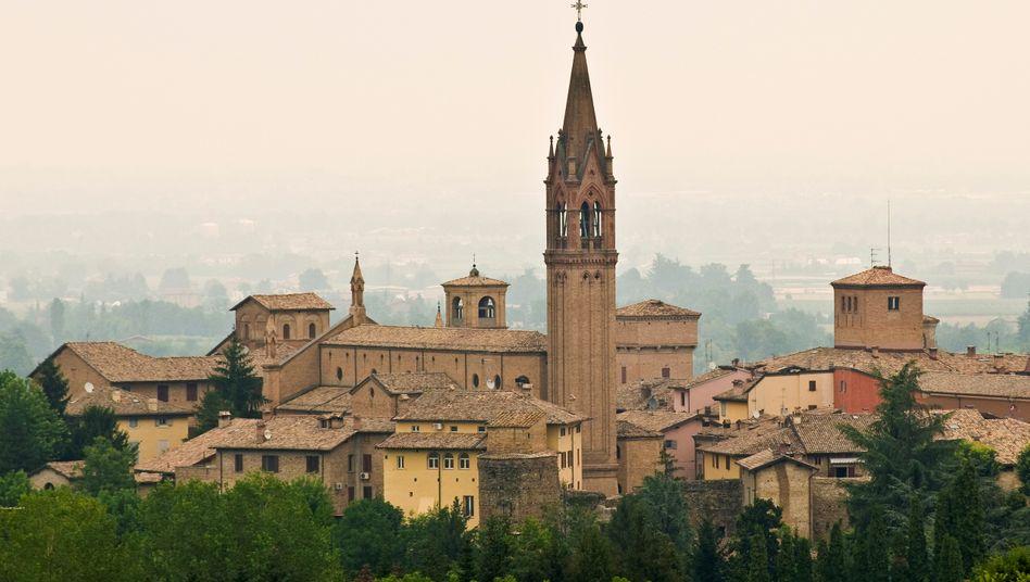 Der Ort Castelvetro di Modena