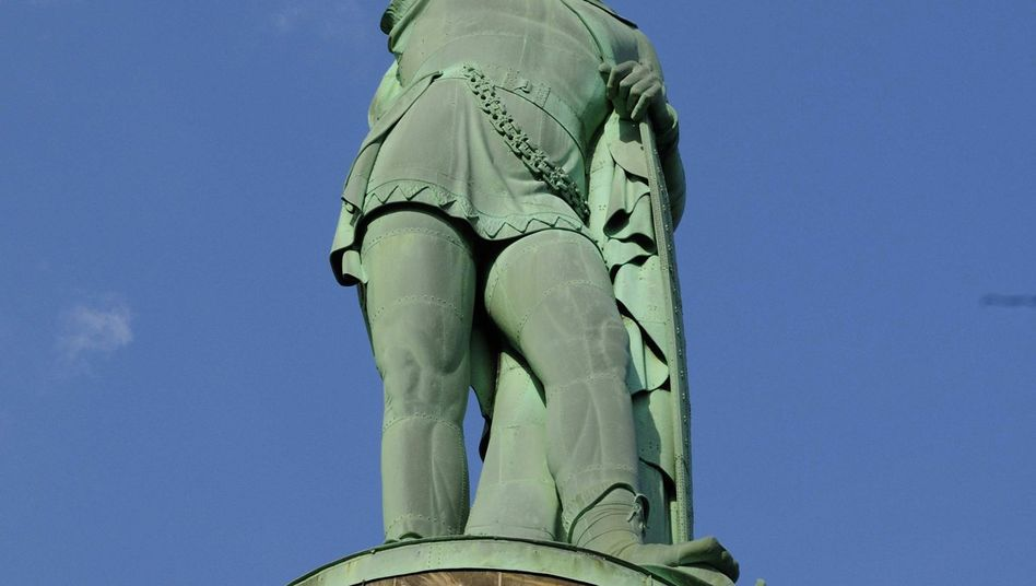 The Hermann Monument testifies to the power of the myth that created the German nation.