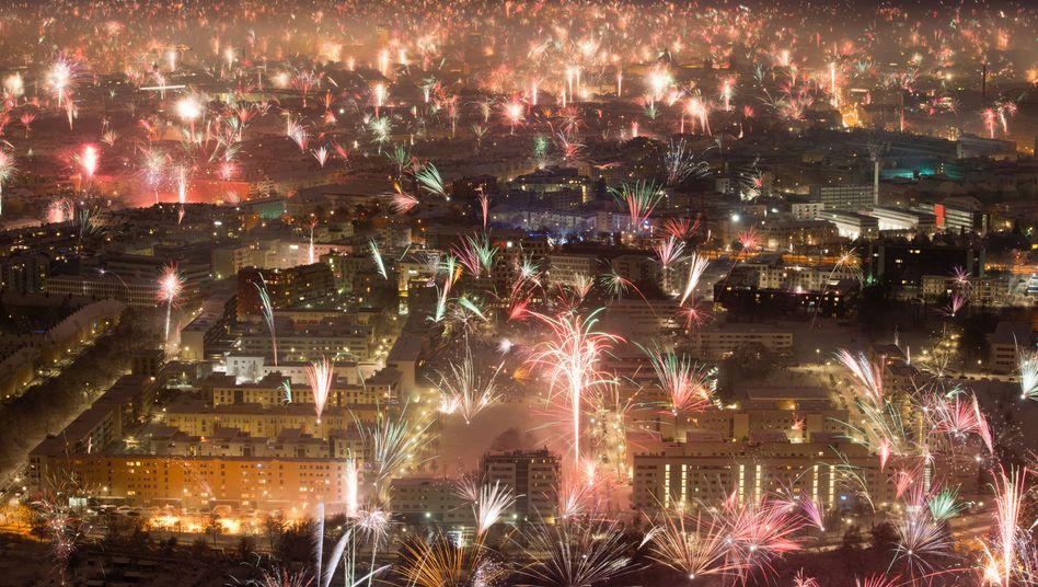 """Leuchtraketen über München: """"Die wollen einen draufmachen"""""""