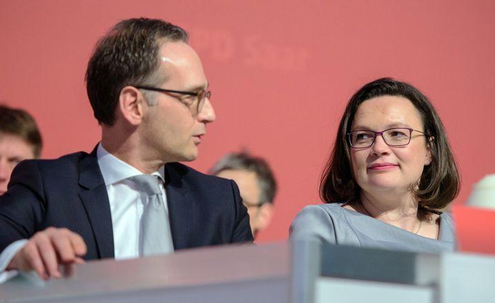 Heiko Maas, Andrea Nahles