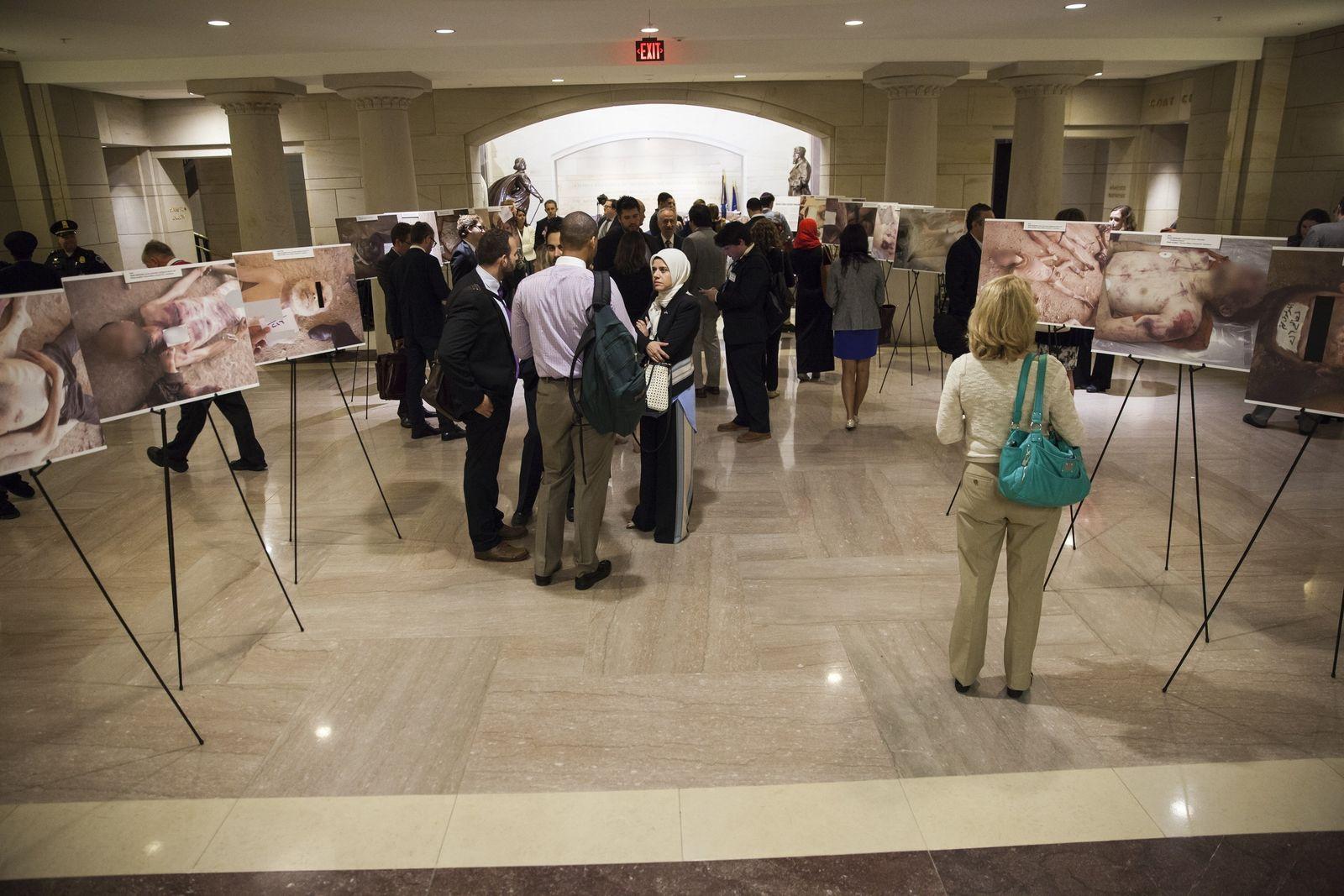 Syrian Torture Photo Exhibit